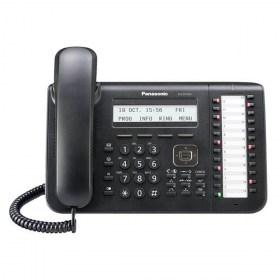 Ψηφιακή τηλεφωνική συσκευή 24 πλήκτρων (Μαύρη)